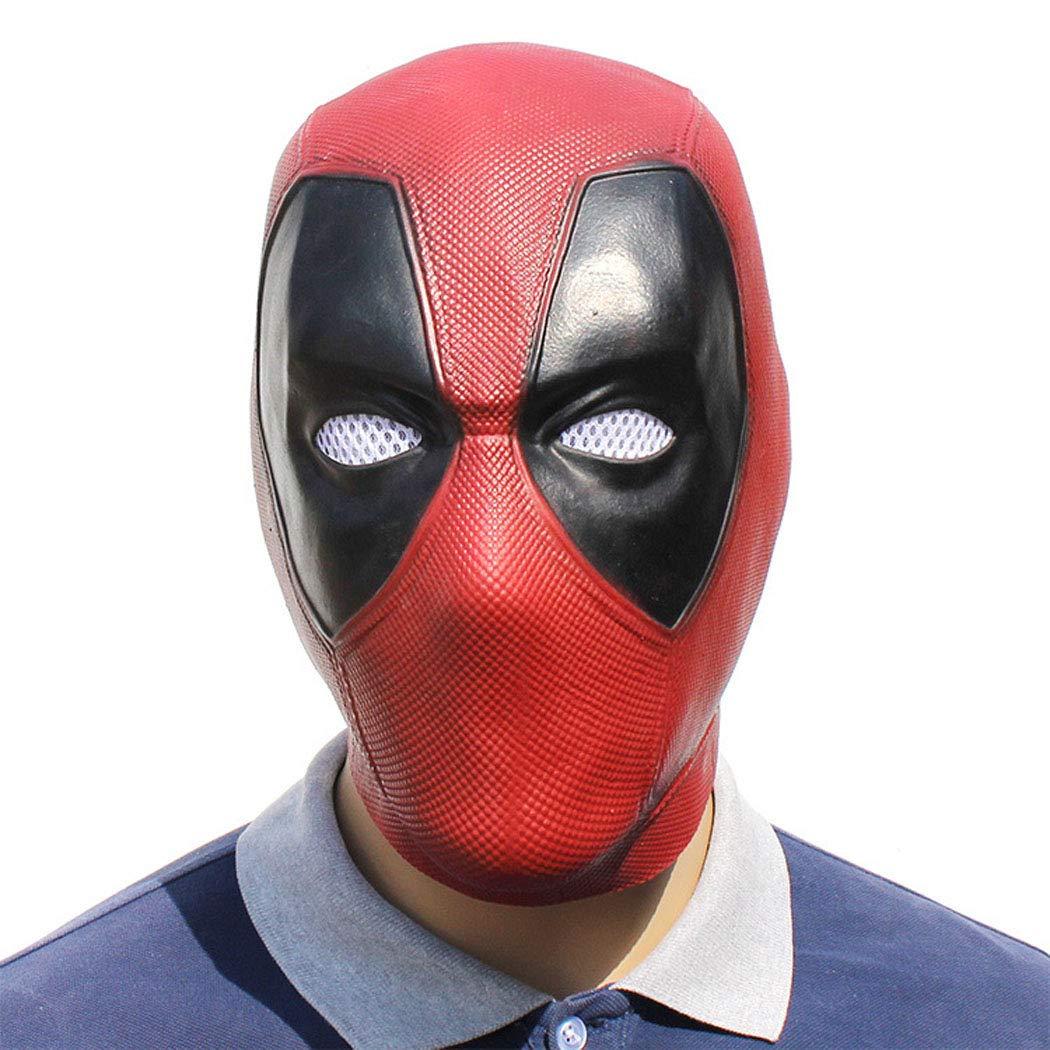 Yxsd Halloween tot Maske Maske Latex Haube Deadpool Dekoration Weihnachten Cosplay Maske Kopftuch