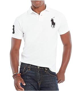 429ee4e18b20 Polo Ralph Lauren Mens Custom Slim Fit Mesh City Polo Shirt at ...