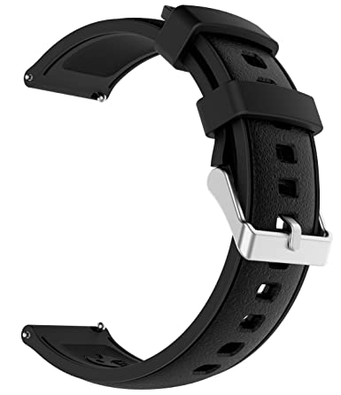 Amazon.com: sangaimei bandas de reloj de silicona de goma ...
