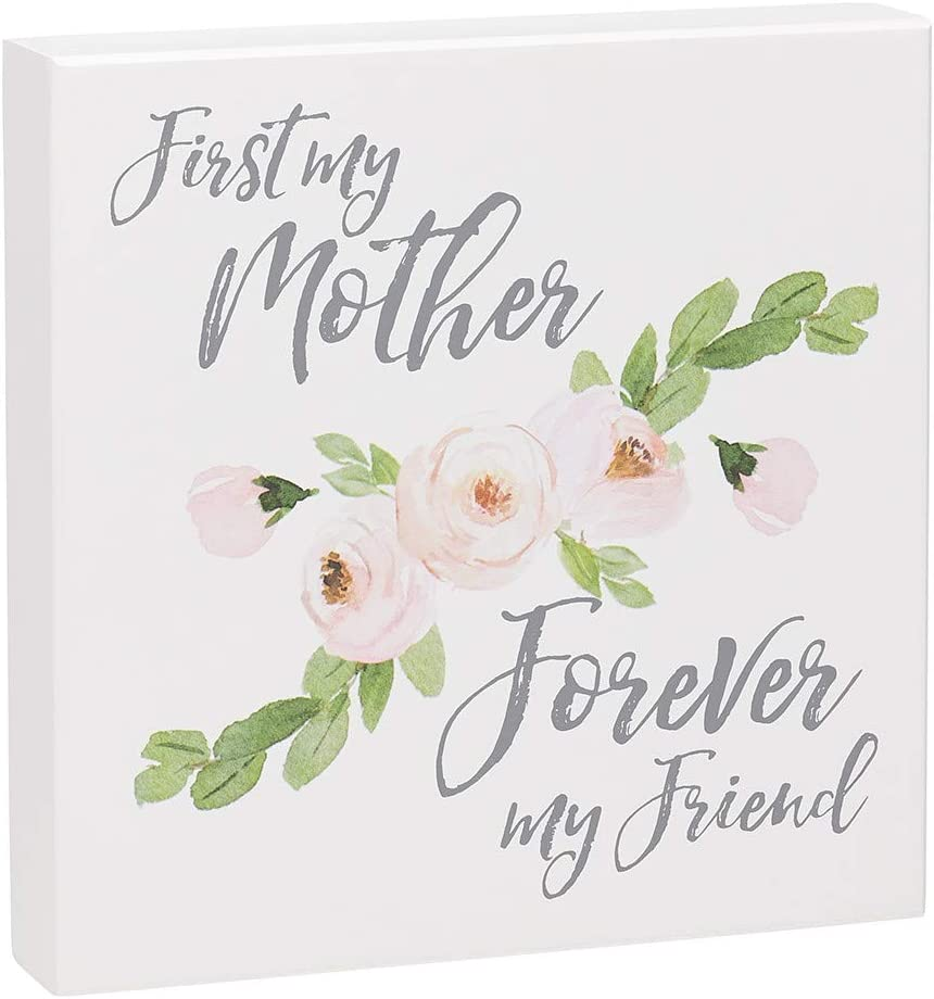 Collins Painting Wood Box Sign for Moms, 8