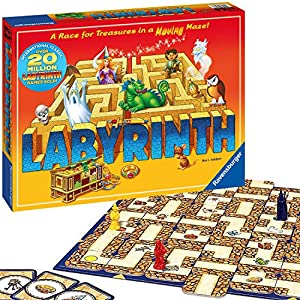 Ravensburger Labyrinth Family Board Game for Kids and Adults