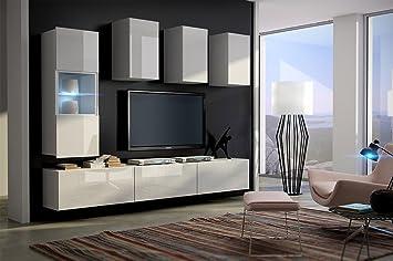 FUTURE 4 Moderno Mueble de Salón Comedor, Sala De Estar Juego De ...