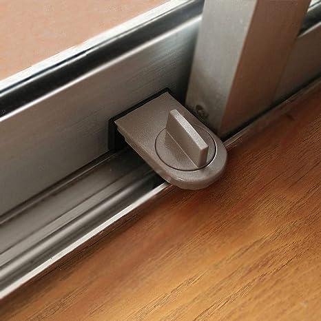 Dergtgh 2pcs Ventana corredera cerraduras de Seguridad para niños ...