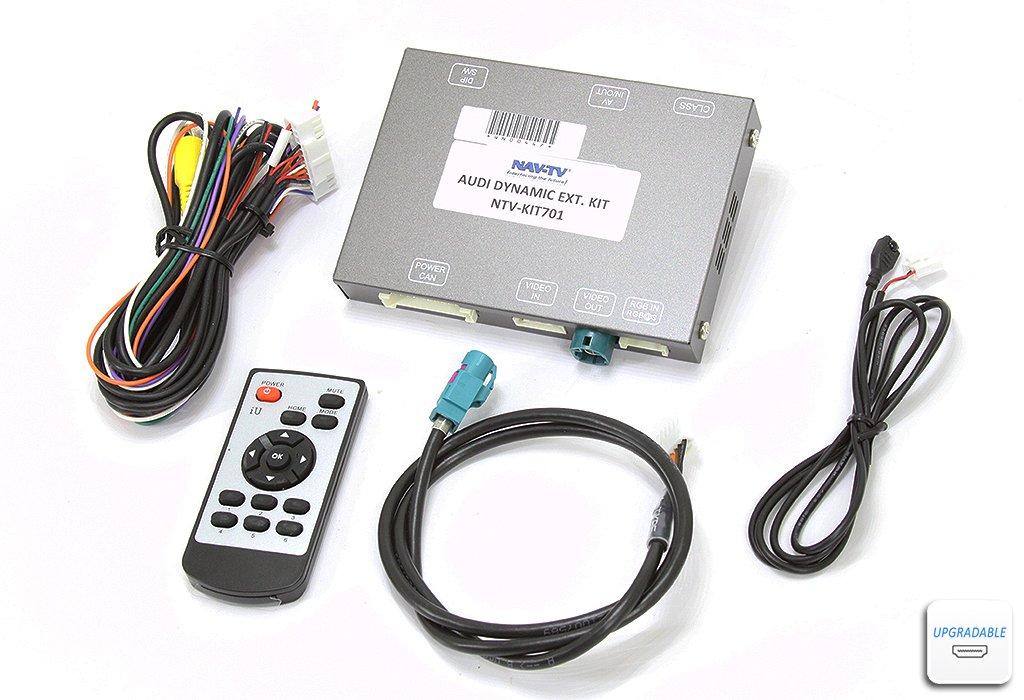 nav-tv Audi dynamic-ext ( ntv-kit701 )バックアップカメラ統合キットfor選択2009 – 2016アウディMMIコントロールでVehicles onコンソール、垂直ませんラジオ面 B01N5GEFBV
