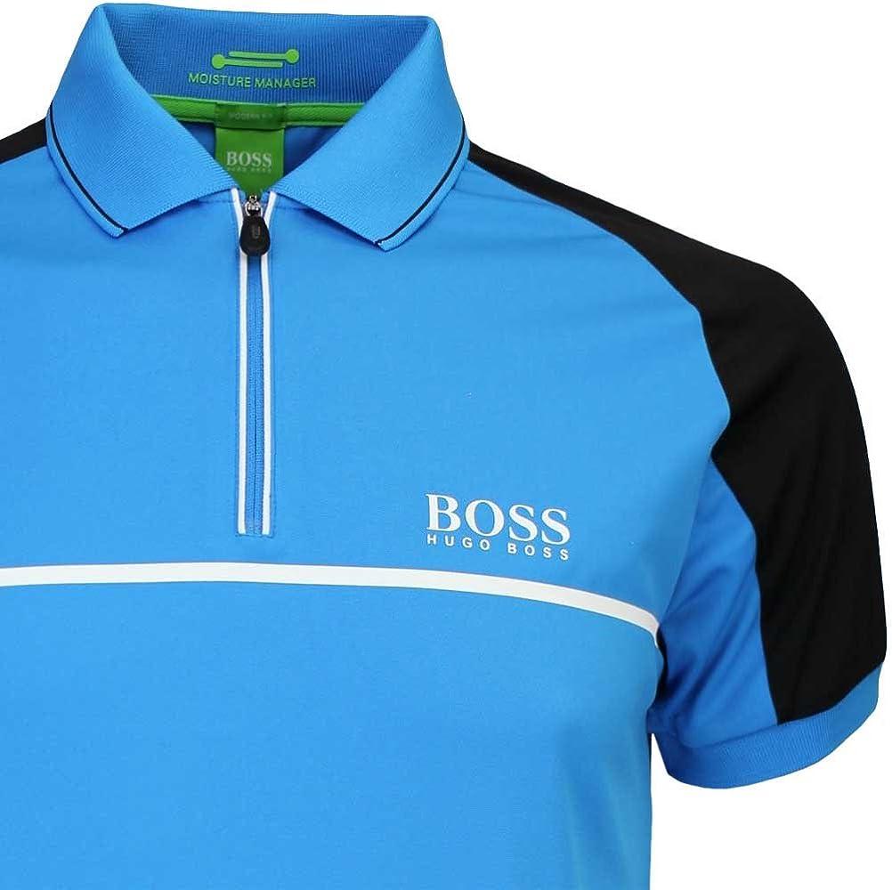 BOSS Hugo Camisa de Golf Prek Pro – Blue Aster FA16, Hombre, Color Azul, tamaño XX-Large: Amazon.es: Ropa y accesorios