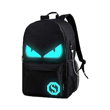 71538fe1ec83 Cool Boys School Backpack Luminous School Bag Music Boy Backpack for Kids