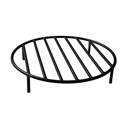 Onlyfire Round Fire Pit Grate with 4 Legs for Outdoor Campfire Grill  Cooking, 24 Inch - Amazon.com : Onlyfire Round Fire Pit Grate With 4 Legs For Outdoor