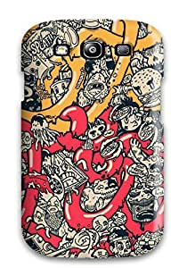 CATHERINE DOYLE's Shop Cute Tpu Doodle Art Case Cover For Galaxy S3 6433530K20763742