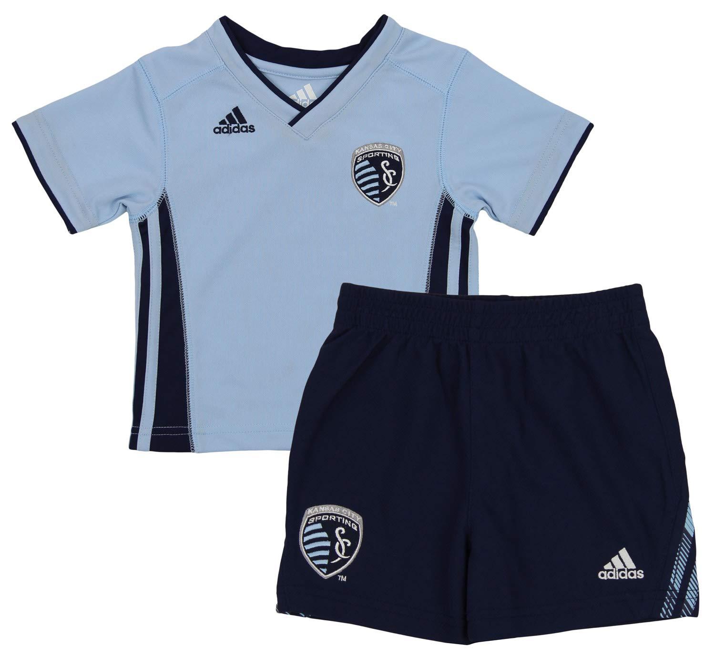 Outerstuff MLS Baby Sporting Kansas City Tip Off Shirt /& Shorts Set
