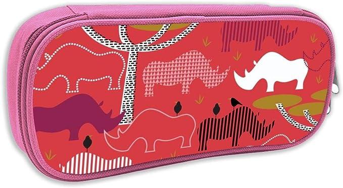 Estuche de lápices Infantil,Caja de IKEA Favorita Rhinos_3023 - katerhees, pingk: Amazon.es: Juguetes y juegos