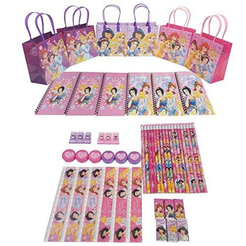 Princess Stationery - Disney's Princess Goody Bag w/ Stationery Set (54 Pcs)FV