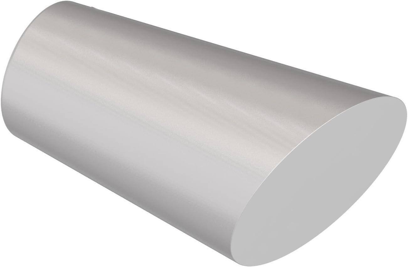 Konus Flairdeco Endst/ücke f/ür 20 mm /Ø Gardinenstange Metall Silbergrau 2 St/ück