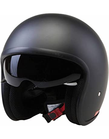 af7e4367 Viper ECE22.05 Approved Motorcycle Motorbike Moped Cruise Touring  Travellers Helmet Open Face Jet -