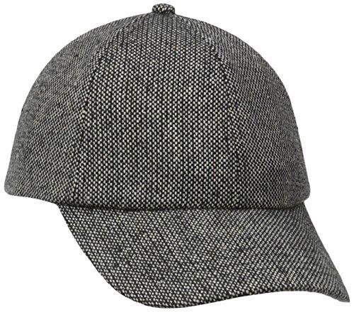 San Diego Hat Company Women's Tweed Cap, Black, One - Shopping Tweed