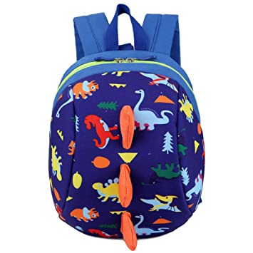 Dinosaur Backpack Toddler Safety Harness Anti-Lost Kindergarten Baby School Bag