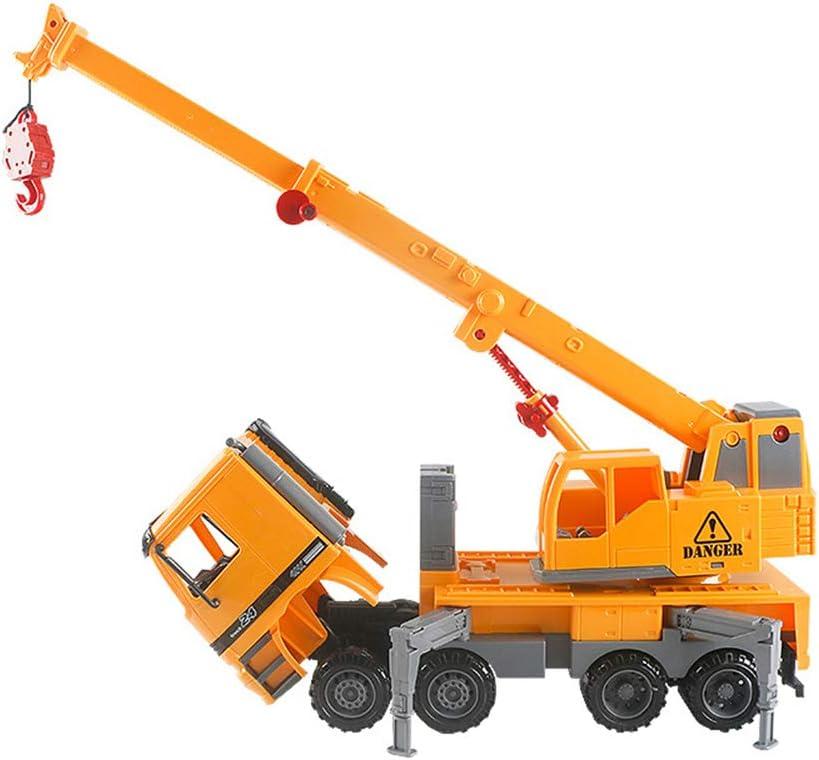 Yeshai3369 Ingenier/ía Gr/úa Cami/ón Veh/ículo Ni/ños Juguete 38cm Grande