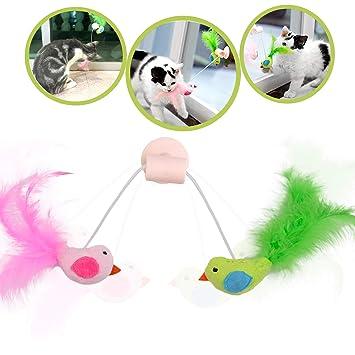 Legendog Juguetes para Gatos, Juguete Interactivo para Gatos con Plumas para Kitty (Interactivo Catnip