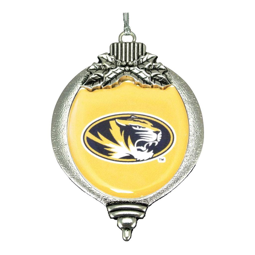 MadSportsStuff University Missouri Tigers Christmas Ornament