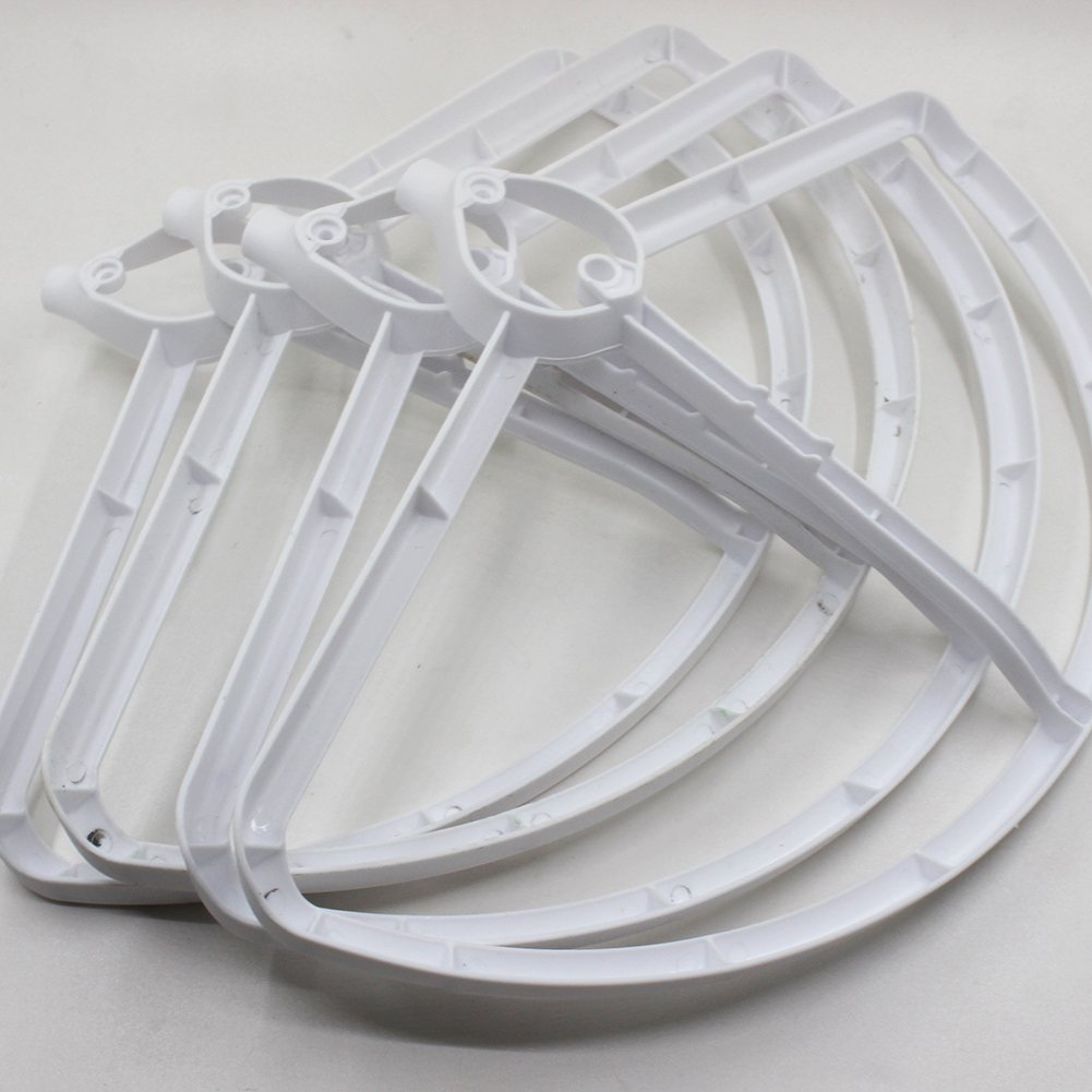 Compatible with H501S H501C Drone White Color BTG Propellers Props Guards Protectors