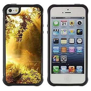 Suave TPU GEL Carcasa Funda Silicona Blando Estuche Caso de protección (para) Apple Iphone 5 / 5S / CECELL Phone case / / Dawn /