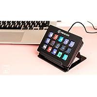 Elgato Stream Deck - Controller voor liveproducties met 15 aanpasbare LCD-toetsen en verstelbare steun, start acties in…