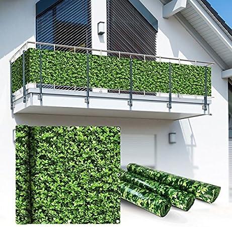 Sichtschutz Balkon Balkonsichtschutz Balkonverkleidung 75 cm Balkonumspannung