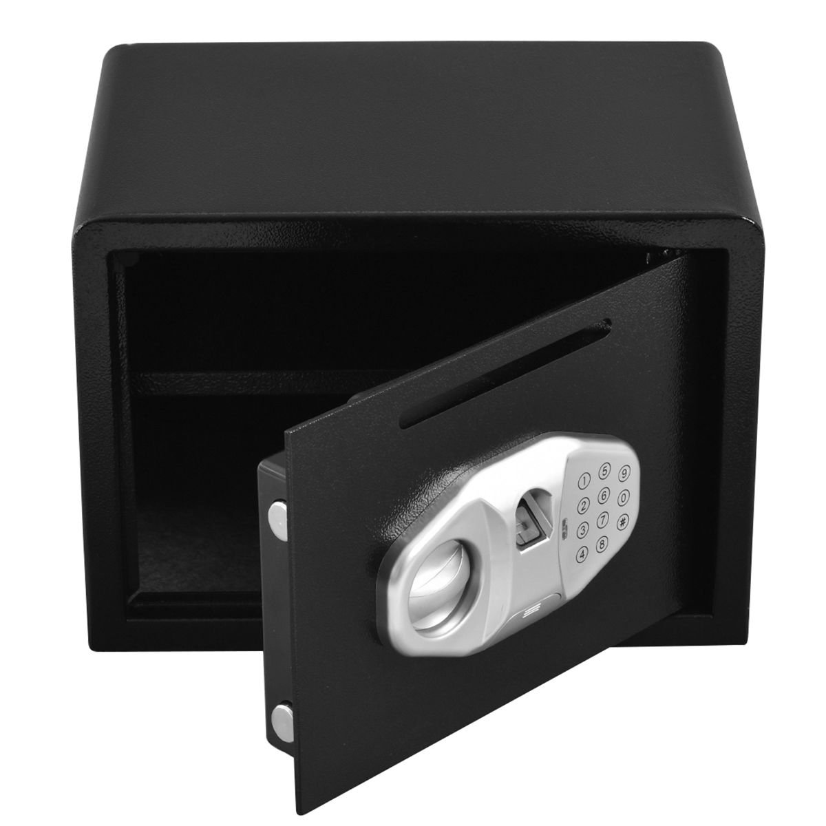 Safstar Cabinet Safes Biometric Fingerprint Electronic Digital Keypad Lock Security Box for Cash Jewelry Passport Guns Collectibles (FS Fingerprint: 9.8'' x 13.7'' x 9.8'') by S AFSTAR (Image #4)