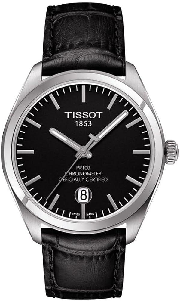 Tissot TISSOT watch PR 100 Quartz chronometer T1014511605100 Men s regular imported goods