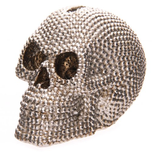 Puckator Jewelled Skull Money Box 9cm
