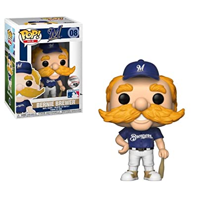 MLB Milwaukee Brewers Bernie The Brewer Pop! Vinyl Figure: Toys & Games