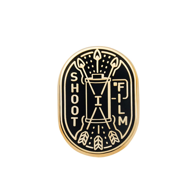 Asilda Store I Shoot Film Lapel Enamel Pin [with Deluxe Pin Lock]