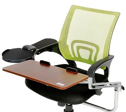 Delicol silla de oficina silla giratoria de hogar (Mount Teclado ergonómico de ajustables de aluminio