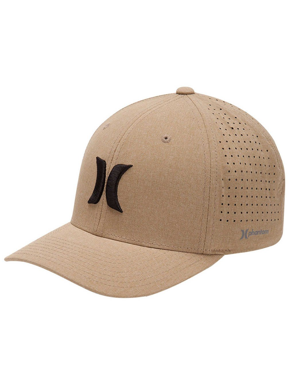 Hurley Mens WSL Phantom Cap L/XL Khaki/Black
