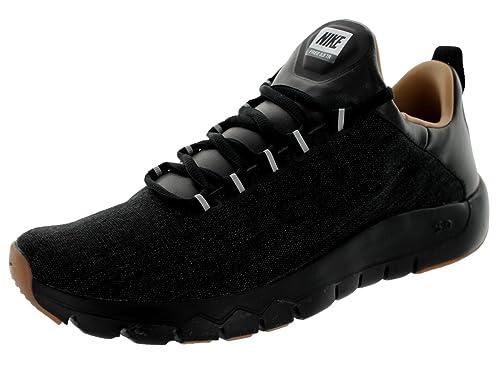 ab06cbec75b1 Nike Men s Free Tr 5.0 Premium Black Black Gum Med Brown Training Shoe 8.5