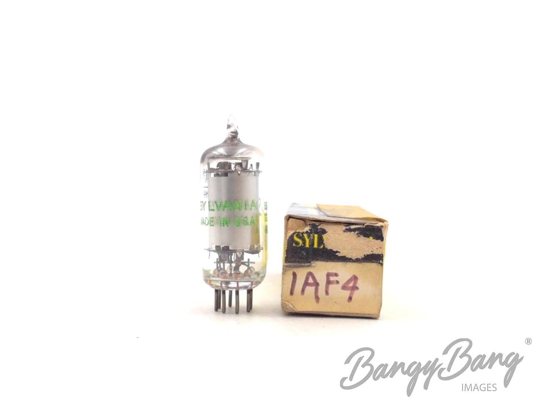 Vintage Sylvania 1AF4 Miniature Sharp Cutoff Pentode Valve BangyBang Tubes