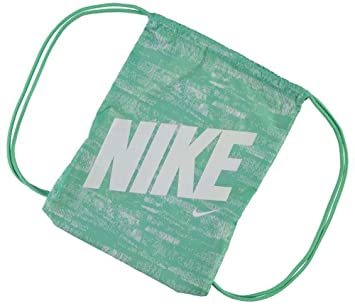 4d269f846a58 Mens Ladies Kids Unisex Genuine Nike Graphic Gym Sack Pack Bag Accessories  (Ghost Green
