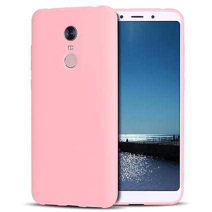 SpiritSun Funda Xiaomi Redmi 5 Plus Soft TPU Silicona Handy Candy Carcasa Funda para Xiaomi Redmi 5 Plus Suave Silicona TPU Carcasa Ultra Delgado y ...