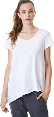Bodytalk Training T-shirt for Women, Size S, Mixed Materials - White