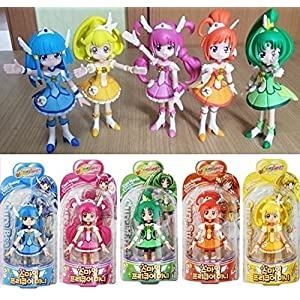 Glitter Force Smile Precure 5 Figure doll Set Cure Happy Beauty Sunny March Peace Bandai Korea New - 61By0H0AX7L - Yoyamo UltraSlim Protective Three Papas Scratch-Fragrance Cover Case004