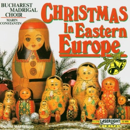 Christmas in Eastern Europe by Bucharest Madrigal Choir (2008-04-08) (Popular Christmas Madrigals)
