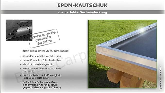 Pantalla EPDM 1,52 mm para CarPort, Garage, colgadizos o ...