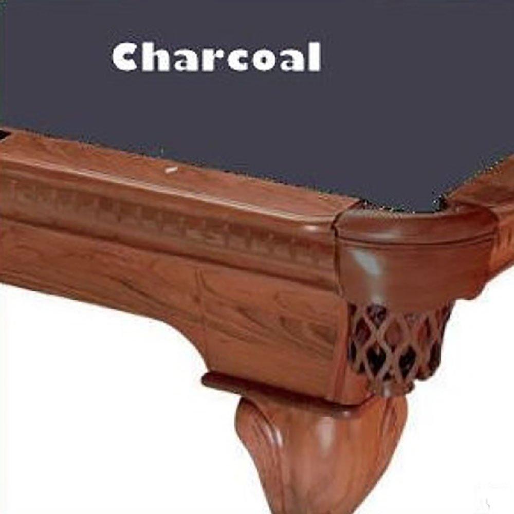 7 Charcoal ProLine Classic 303 Teflon Billiard Pool Table Cloth Felt