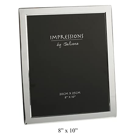 Silver Plated Picture Frame 8 X 10 By Juliana Amazoncouk
