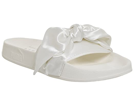 Women's Bow Slide Wns MARSHMALLOW-PUMA SILVER