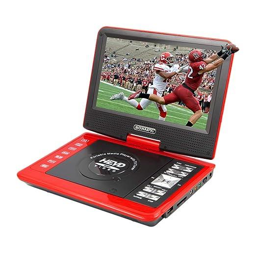 SUPVOX Reproductor de DVD portátil de 9,8 Pulgadas Pantalla ...