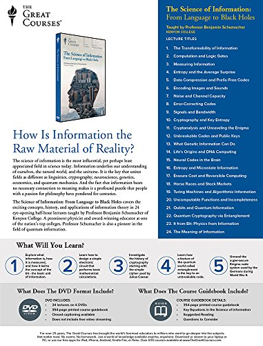 b16dacc39ac39 Amazon.com: The Science of Information: From Language to Black Holes ...