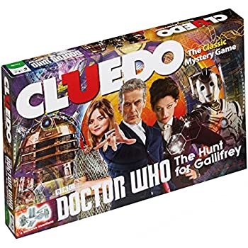 Amazon.com: Winning Moves Games Doctor Who Cluedo Mystery ...