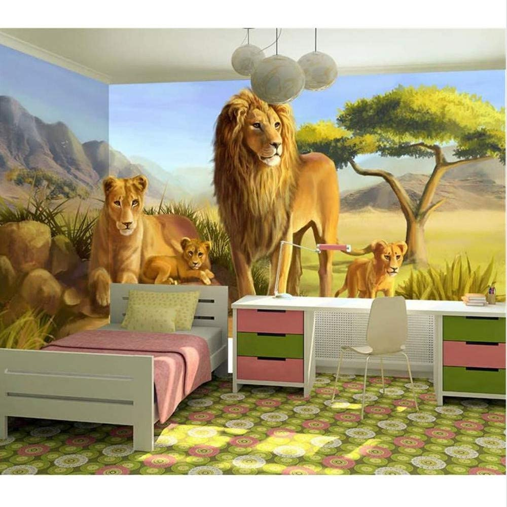 Guyuell Custom 3D Photo Wallpaper Kids Room Mural De Dibujos ...