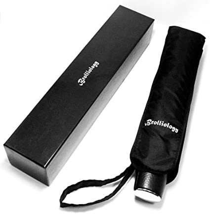 0ed4adeb35a30 Umbrella Folding Strong Windproof Umbrella Vented Auto Open & Close Black  Travel Umbrellas for Men &
