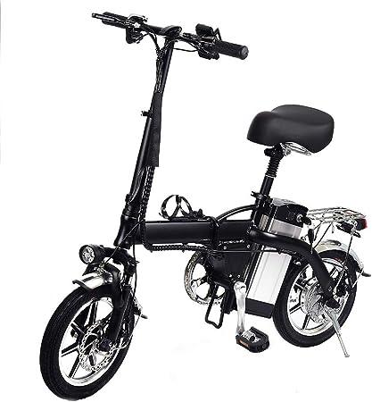 mysticall Folding Ebike con 350W 48V / 10AH Batería, Bicicleta ...